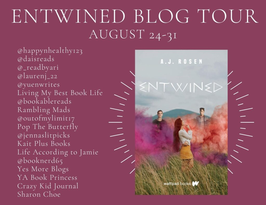 Entwined Blog Tour List